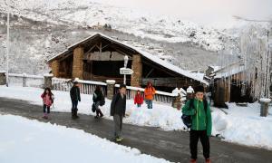 La darrera nevada deixa 110 nens sense poder assistir a l'escola