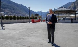 El candidat a cap de Govern d'Andorra Sobirana, Eusebi Nomen.