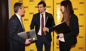 Els responsables del RACC van presentar ahir l'auditoria de senyalització.