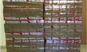Intervenen 2.260 paquets de tabac a la zona del túnel del Cadí