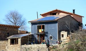 """La casa """"positiva"""" està a la població d'Aramunt, al Pallars Jussà."""