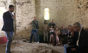 La inauguració de la restauració de l'ermita de Santa Maria de la Serra.