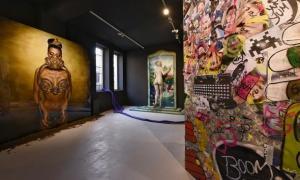 Philippe Shangti va ser l'inquilí del pavelló andorrà a l'última edició de la Biennal, amb 'Future is Now'.