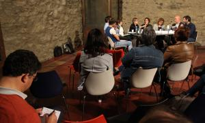 Andorra, la Massana, Farga Rossell, Jornada de debat, Recerca històrica a Andorra, Lluelles, Solé, Villaró, Gascón, Remolins, Yáñez, Vela, Codina