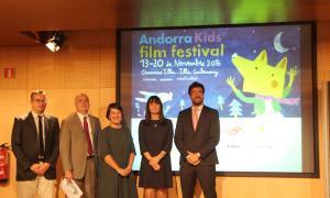 Andorra Kids' Film Festival, Andorra, cine Illa Carlemany, Marta Lladó, Oscar Araujo, Alvaro Rodríguez Areny