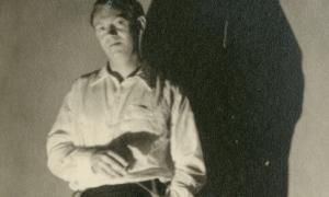El poeta James Kirkup, traspassat el 2009.