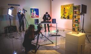 La sessió del DJ Marc Montalvo es va enregistrar al Thyssen.