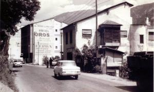 Villa Carmen, situada al número 85 de l'actual avinguda Príncep Benlloch de la capital, on Fabra va dormir les nits del 26 i 27 de novembre del 1947; aquesta fotografia és del 1968.