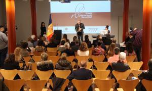 L'entrega de premis va tenir lloc el 28 de novembre al 'foyer' de l'Auditori.