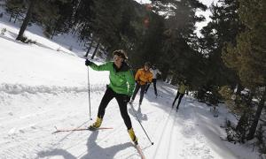 El Bus Blanc es va posar en marxa quan va obrir l'estació d'esquí nòrdic.