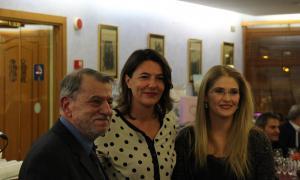 Robert Pastor i Noemí Rodrígeuz, els últims guanyadors del Tristaina de periodisme.