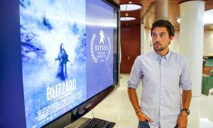 El director Álvaro Rodríguez Areny, el setembre del 2018, quan va fer pública la selecció al festival català.