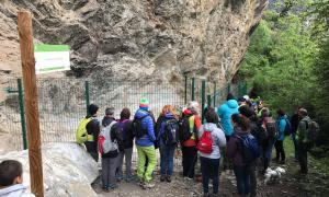La Balma de la Margineda, excavada entre el 1979 i el 1991, conserva els vestigis humans més antics del Principat.
