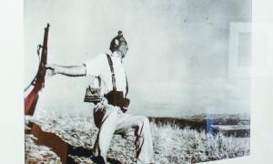 Milicià a Cerro Murinao, 1936.
