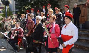Les cantades de Caramelles de Sant Julià de Lòria, el 2017.