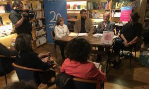 Quatre entitats culturals del país guardonades pel grup BonartBonart va donar a conèixer els guardonats andorrans a La Puça, ahir al vespre.