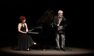 Joan Ollé i ester Nadal van protagonitzar 'Notes de viatge' al Claror.
