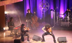 Malikian, ahir a Ordino, en el tercer concert andorrà dels últims quatre anys.