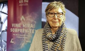 La veterana fotoperiodista catalana va desfilar ahir pel Fòrum FNAC, convidada per Ull-Nu.