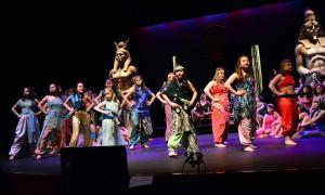 El cor femení del Col·legi María Moliner es va estrenar a 'La corte de Faraón', el mes de maig, al Claror.