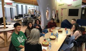 Els tallers es van portar al febrer a Andorra, Barcelona i Tolosa i van comptar amb la participació d'una trentena de joves.