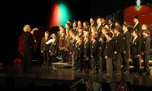 Andorra, Andbank, Petits Cantors, concert de Nadal, Escola Meritxell