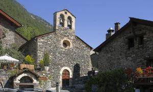 Sant Serni de Llorts, amb entorn des d'aquest any.