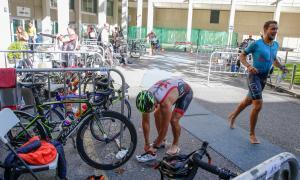 Saura i Castellanos, vencedors del 15è Triatló popular d'Andorra