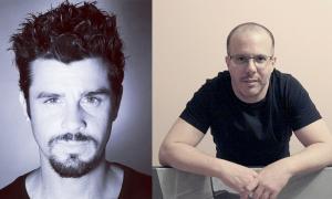 Philippe Shangti, fotògraf i escultor, i l'artista digital Martín Blanco, els dos candidats que han passat el primer tall de la Biennal.