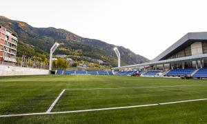 El VPC torna a entrenar-se al 'nou' Estadi Nacional