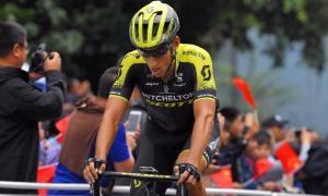 El resident Carlos Verona, cinquè al Tour de Guangxi