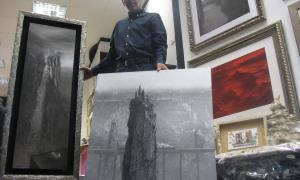 Andorra, Escaldes, exposició, Sánchez, Biennal, Marcs Goya, L'efímer i l'etern, Venècia, Riberaygua, Serlé, Tinturé, Forcadell, Valls