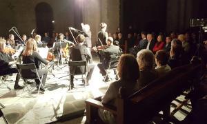 El concert de l'any passat de la formació que dirieix Metayer a la catedral de Santa Maria.