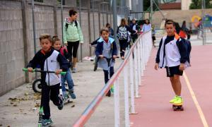 Les escoles de Tremp celebren la Setmana de la mobilitat sostenible