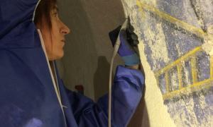 Andorra, Sant Serni, Puríssima Sang, pintures murals, Josep Oromí