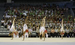 La Gimnastrada popular reuneix 500 gimnastes