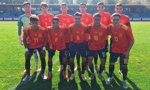 La sub-19 debuta al PreEuropeu rebent cinc gols d'Espanya