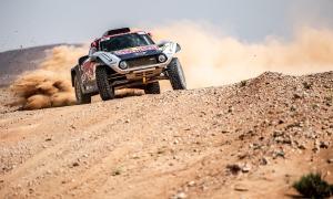 Cyril Despres debuta amb un podi amb el nou Mini al Marroc