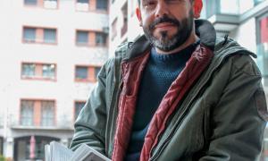 David Gálvez, escriptor.