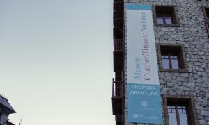 Andorra, Escaldes, museu Carmen Thyssen, hotel Valira, Fitur, obertura
