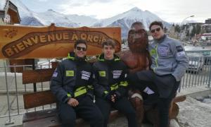 L'equip de la FAE, a Orcieres Merlette.