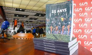 La FAF presenta '25 anys', un llibre farcit de vivències
