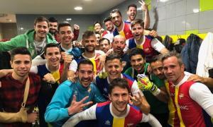 L'FC Andorra, a tocar del líder