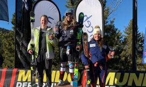 Sissi Hinterreitner assoleix el segon lloc a la Molina