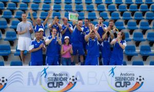 La novena edició de l'Andorra Sènior Cup arriba als 40 equips