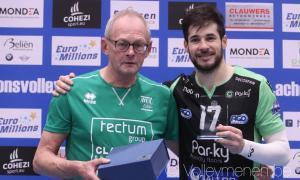 Xavi Folguera, MVP del triomf del Par-ky Menen