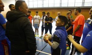 Un equip mixt dels Special Olympics, a Tilburg