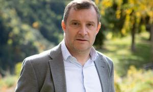 El candidat de Tercera+Unió Laurediana+independents, Josep Majoral.