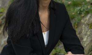 La candidata de CC+DA+L'A, Olga Molné.
