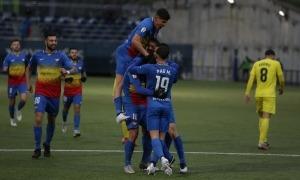 L'FC Andorra manté la il·lusió per classificar-se pel 'play-off'. Foto: Facundo Santana